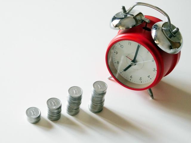 資産形成、時計とお金